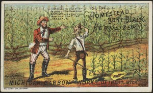 Pre 1900 ad for bonemeal fertilizer